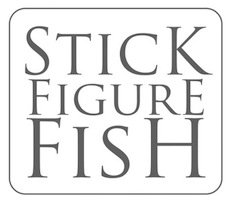 Stick Figure Fish Illustration