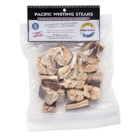 Freeze Dried Pacific Whiting Steaks