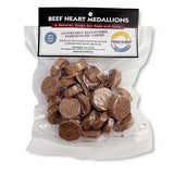 Freeze Dried Beef Heart Medallions