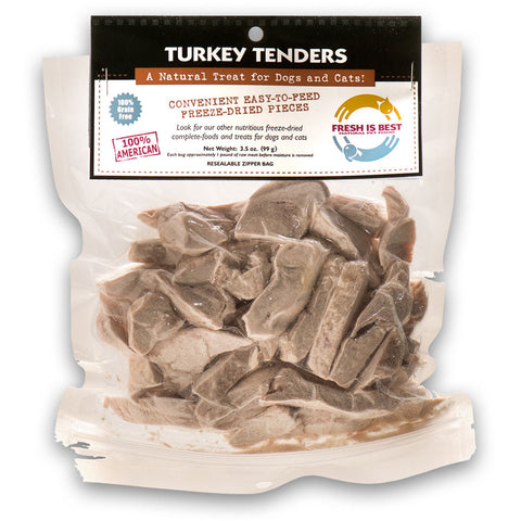 Freeze Dried Turkey Tenders