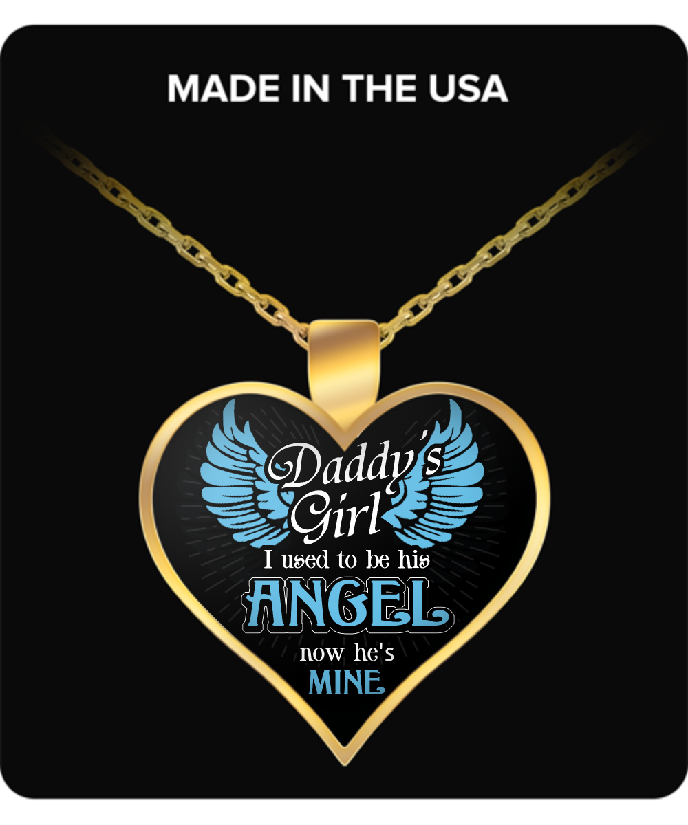 Daddys Girl Gold Plated Necklace Oxytee
