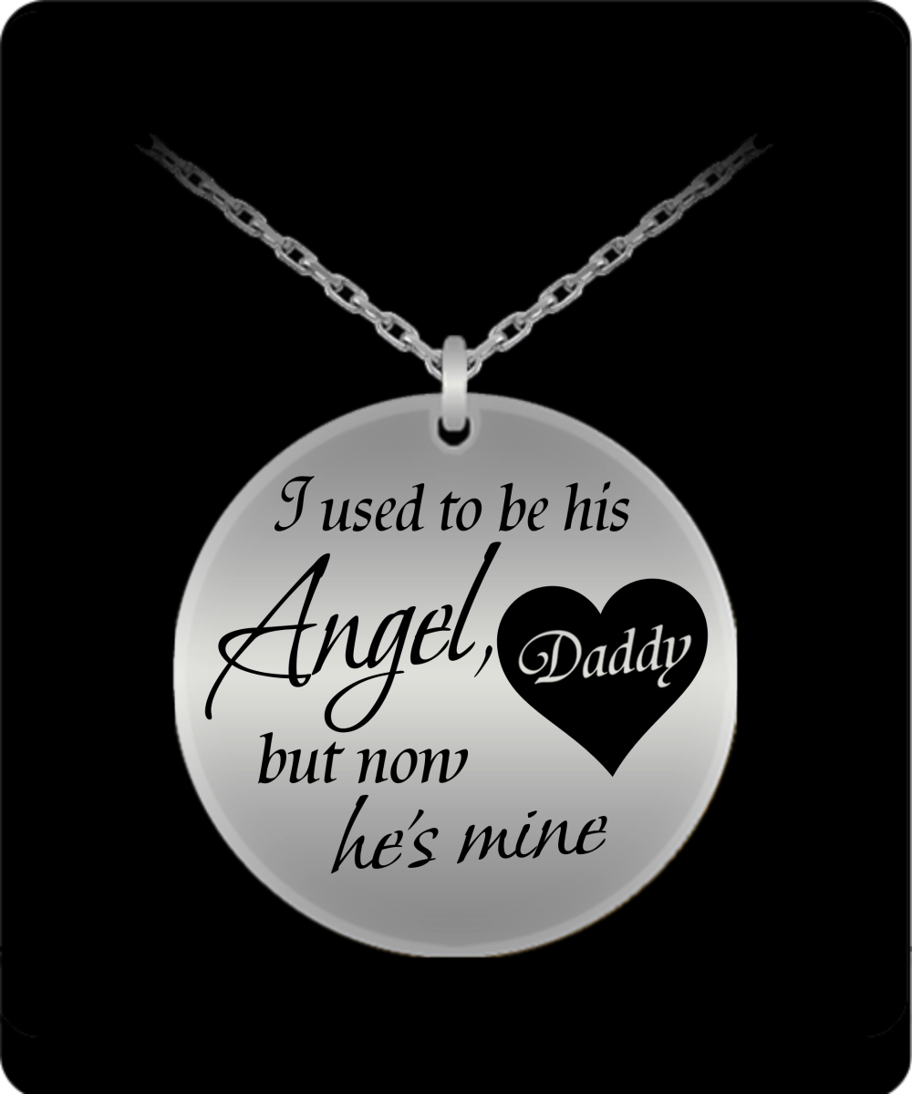 Daddys Girl Laser Engraved Necklace Oxytee