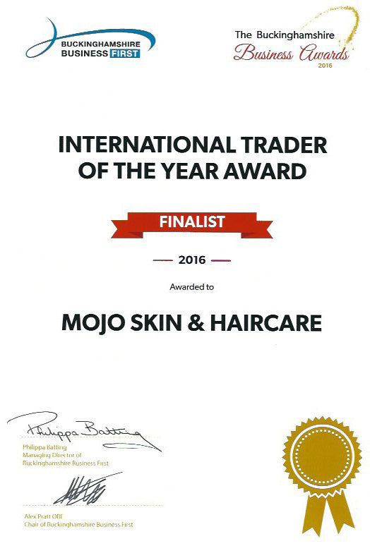 MOJO Hair Nominated for International Business Trader Of The Year Award