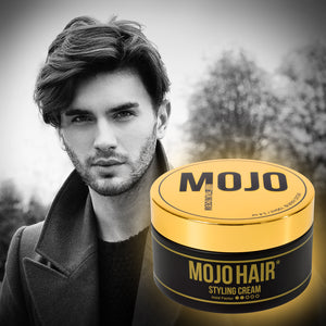Mojo Hair* Styling Cream for Men