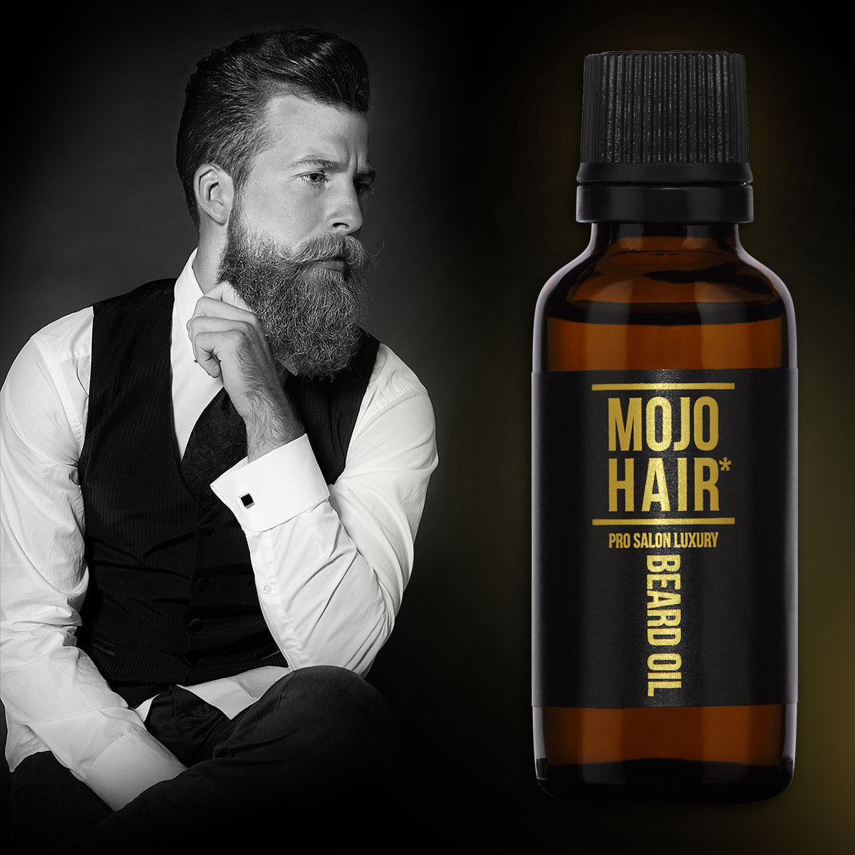 MOJO Hair Pro-Salon Luxury Beard Oil featured on Tajmeeli.com