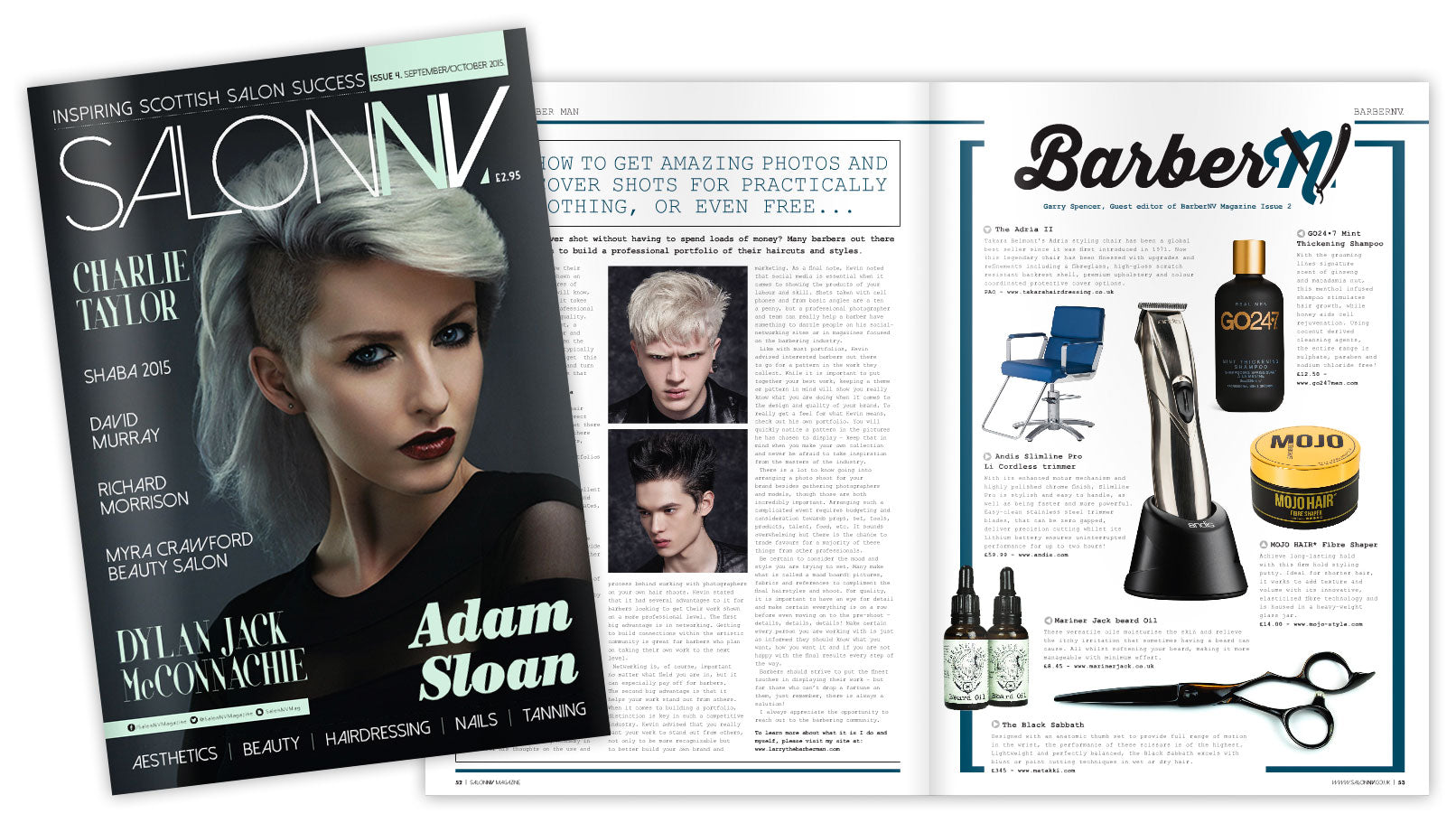 Mojo Hair in Salon NV magazine