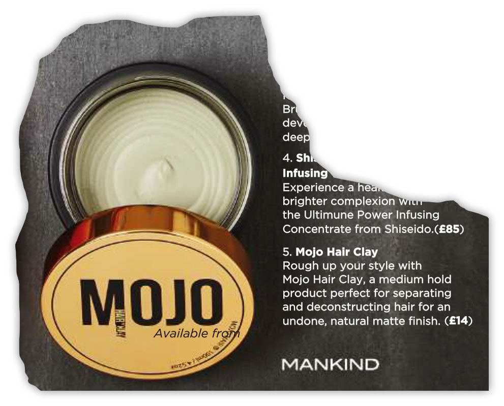 Mojo Hair* Now available at The Hut