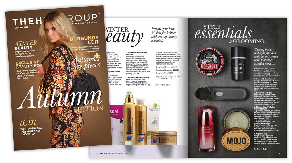 Mojo featured in The Hut Group's Autumn Magazine