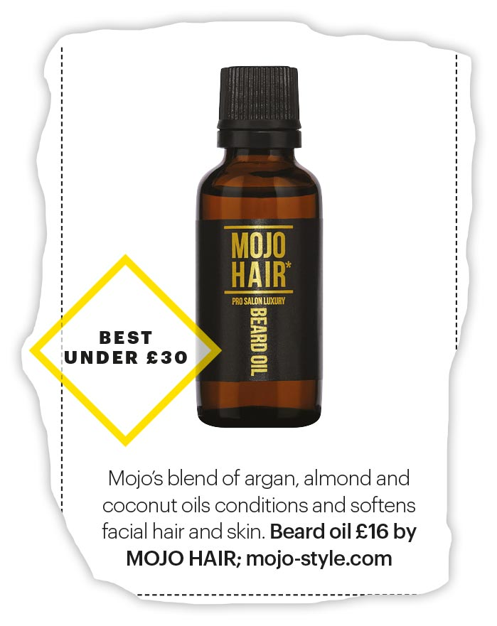 Mojo Hair Beard Oil was featured in Shortlist magazine's style picks