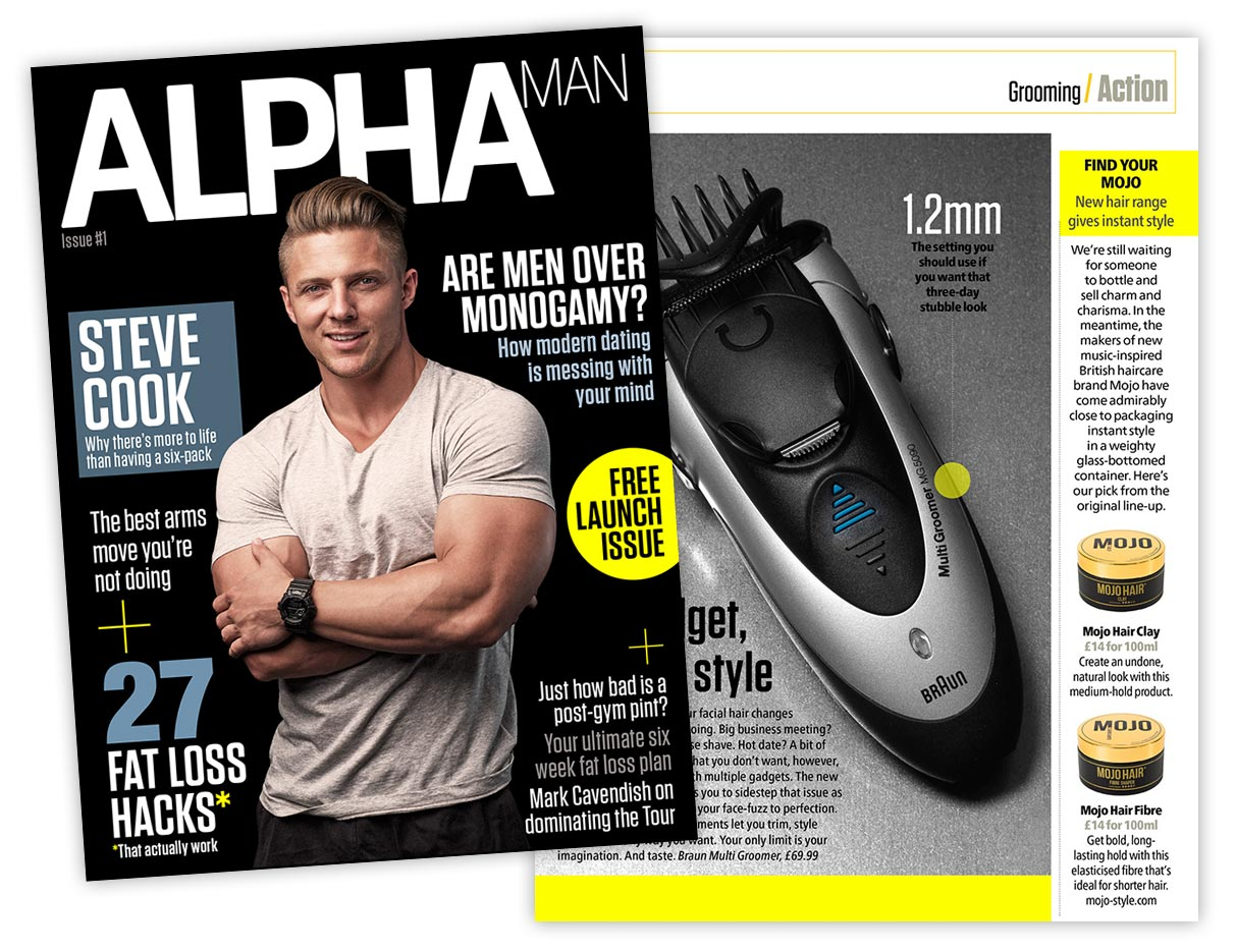 Alpha Man magazine