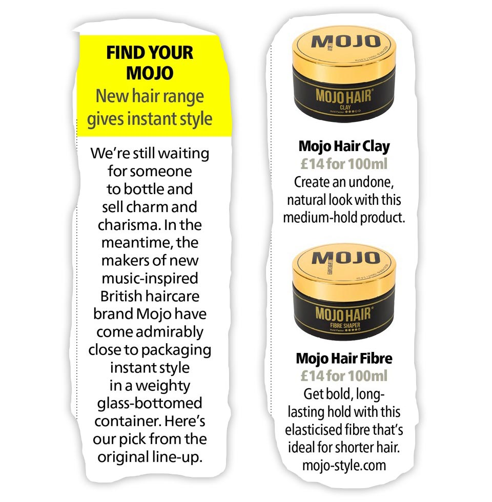 AlphaMan picks their favourite Mojo Hair* styling products
