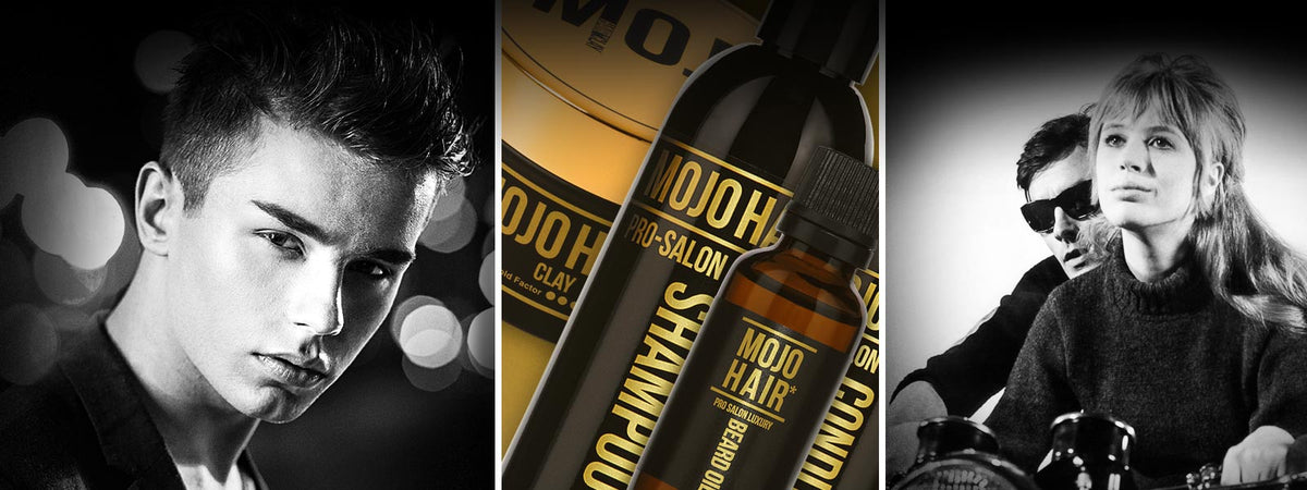 Mojo Hair* Styling and Care Range for Men