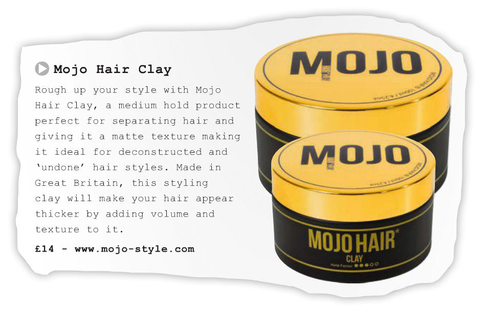 Mojo Hair Clay in Barber NV magazine
