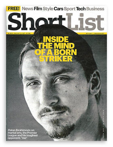Shortlist magazine published 16 April 2105