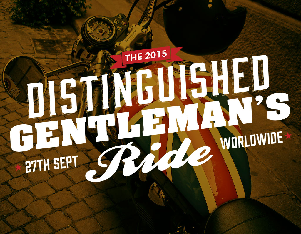 Mojo Hair* is sponsoring The Distinguished Gentleman's Ride