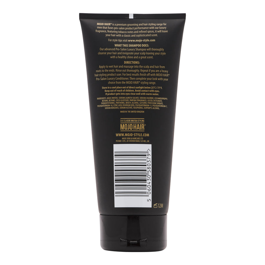Mojo Hair Men's Luxury Shampoo (200ml / 6.76fl.oz)