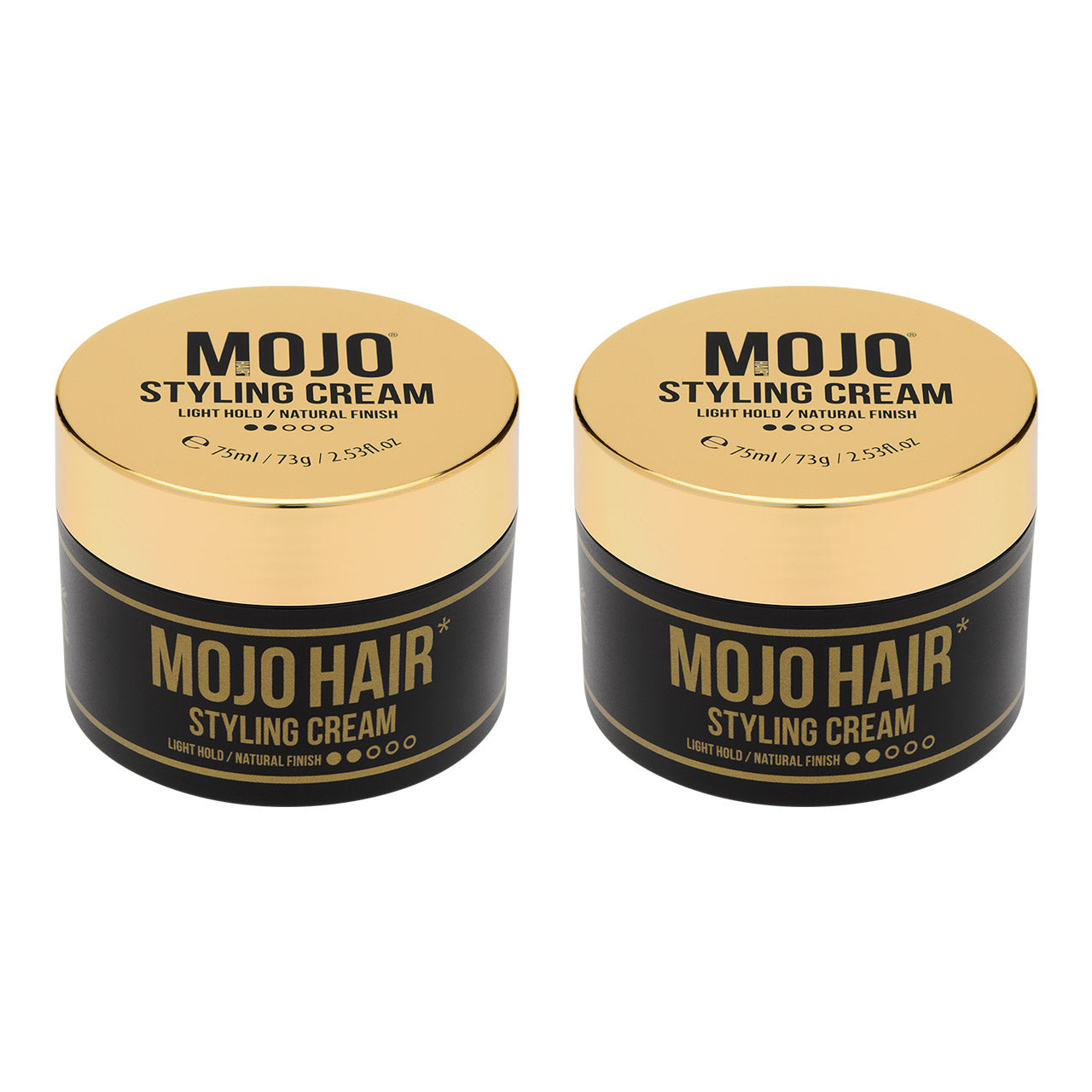Mojo Hair Styling Cream (75ml) x 2