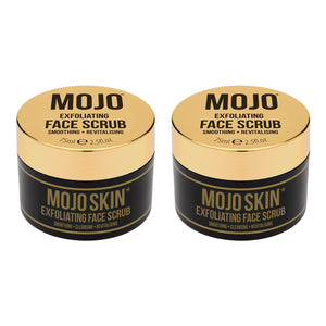 Mojo Skin Exfoliating Face Scrub (75ml / 2.5fl.oz) x 2