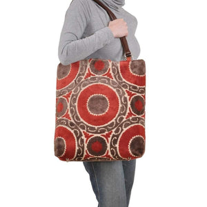 Medallion Seagrass Large Tote-Women - Bags - Totes-Look Love Lust