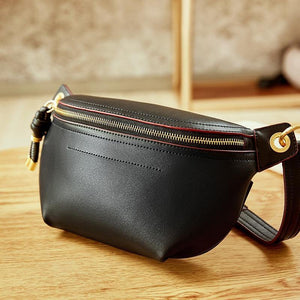 Leather Waist Bag-Shoulder Bags-Look Love Lust