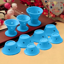 Load image into Gallery viewer, 10pcs/set Soft Rubber Magic Hair Care Silicone Rollers-Look Love Lust