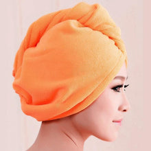 "Load image into Gallery viewer, High Quality Microfiber Hair Towel Hair for Curly Hair Method ""Plopping""-Hair Towels-Look Love Lust"