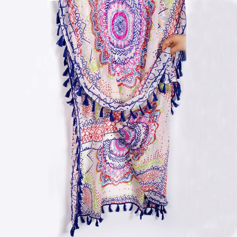Tassel Kaftan Tunic-Cover-Ups-Look Love Lust