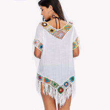 Load image into Gallery viewer, Embroidered Kaftan Tunic-Cover-Ups-Look Love Lust