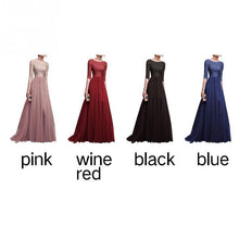 Load image into Gallery viewer, A Line Tulle Long Dress-Dresses-Look Love Lust