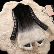 Load image into Gallery viewer, Real Fox Fur and Leather Winter Parka-Real Fur-Look Love Lust