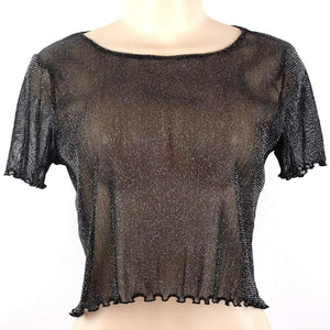 See Through Mesh Blouse-T-Shirts-Look Love Lust