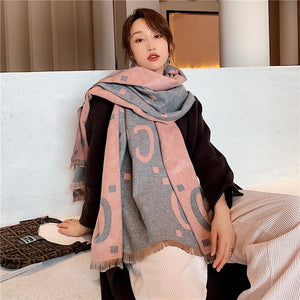 Luxury Cashmere Scarf-Women's Scarves-Look Love Lust