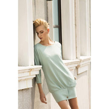 Load image into Gallery viewer, Mint Fraiche Oversized Dress-Women - Apparel - Dresses - Day to Night-Look Love Lust