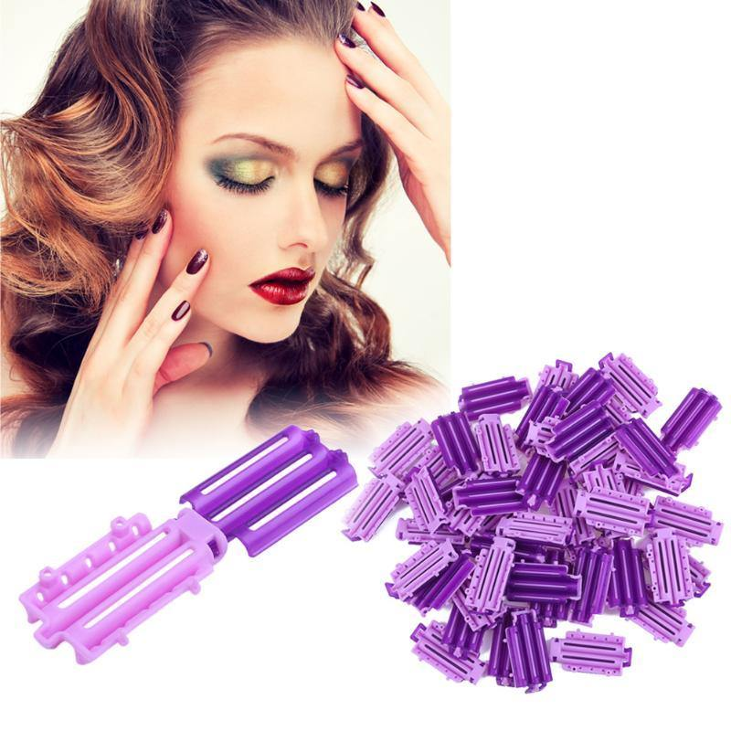 45pcs Wave Perm Rod Hair Clip Clamps-Look Love Lust