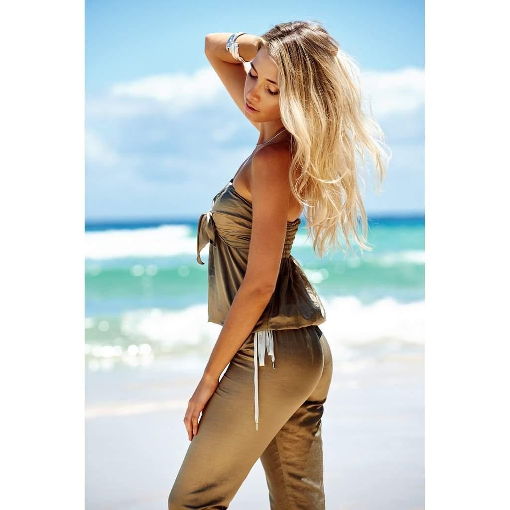 Safari Jumpsuit-Women - Apparel - Jumpsuits/Rompers-Look Love Lust