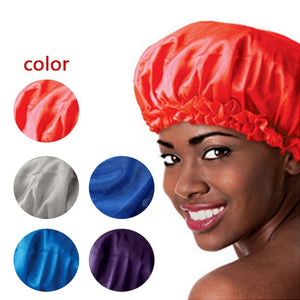 5 Colors Satin Sleeping Bonnet Cap to Protect Hair from Damage and Dryness-Hair Bonnets-Look Love Lust