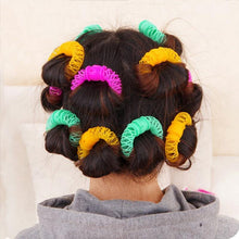Load image into Gallery viewer, 8Pcs New Magic Hair Donuts Hair Styling Roller-Hair Care-Look Love Lust