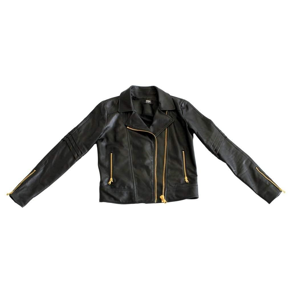The Leather Jacket-Women - Apparel - Outerwear - Jackets-Look Love Lust