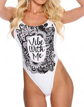 Load image into Gallery viewer, Vibe With Me Backless One Piece Swimwear-Look Love Lust