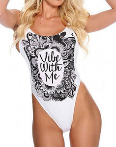 Vibe With Me Backless One Piece Swimwear-Look Love Lust