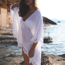 Load image into Gallery viewer, Toni Kaftan Tunic Cover Up-Cover-Ups-Look Love Lust