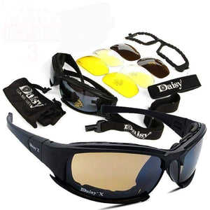 Military Polarized Sunglasses-Hiking Eyewears-Look Love Lust