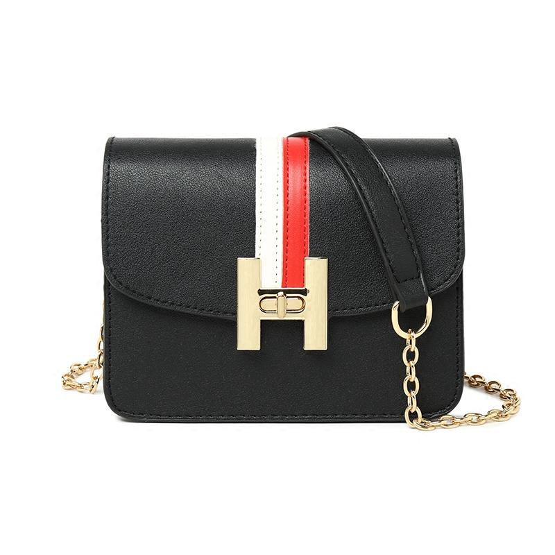 Riza Faux Leather Shoulder Bag-Look Love Lust