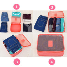 Load image into Gallery viewer, 6pcs/set Travel Organizer Bag-Cosmetic Bags & Cases-Look Love Lust