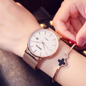 Kindra Gold Quartz Women Watch-Women's Watches-Look Love Lust