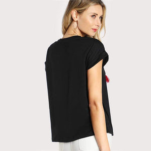 Dolman T-Shirt-Blouses-Look Love Lust