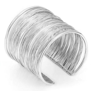 Wide Open Cuff Bracelets Amp Bangles For Men Women Retro New Alloy Big Male Female Bangle Bracelet Fashion Jewelry-Look Love Lust