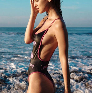 Be Sexy One Piece Swimsuit-Look Love Lust