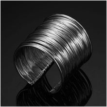 Load image into Gallery viewer, Wide Open Cuff Bracelets Amp Bangles For Men Women Retro New Alloy Big Male Female Bangle Bracelet Fashion Jewelry-Look Love Lust