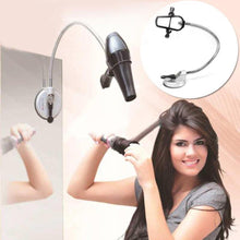 Load image into Gallery viewer, Hands Free 360 Degrees Rotation Hairdryer Organizing Holder Stand Rack with Suction Cup-Hair Accessories-Look Love Lust